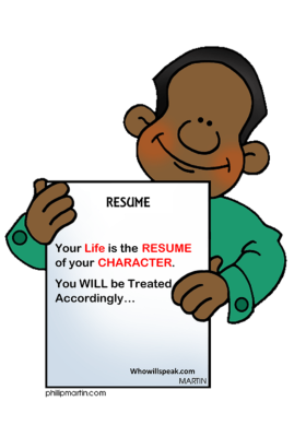 Resume_Of_Your_Character